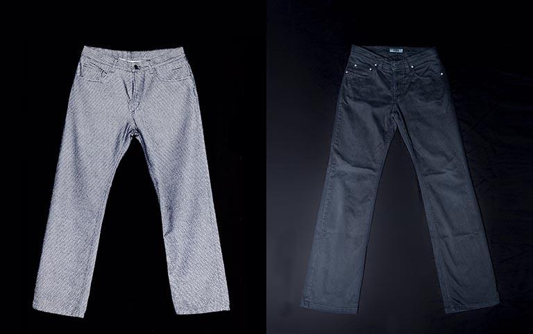 Reflektierende Jeans